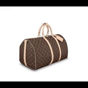 Authentic Louis Vuitton KEEPALL BANDOULIÈRE 50